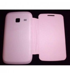 Samsung Galaxy Young Duos S6102 Flip Cover Rosa