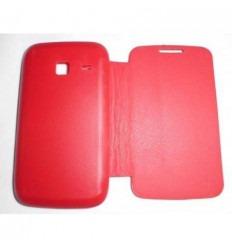 Samsung Galaxy Young Duos S6102 Flip Cover Roja