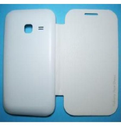 Samsung Galaxy Ace Duos S6802 white Flip Cover