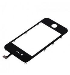 iPhone 4S Cristal + Digitalizador Negro + Marco