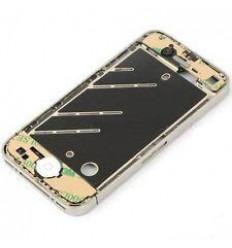 iPhone 4 Carcasa Metalica central completa blanca original