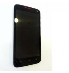 Huawei Ascend D1 Quad XL U9500 LCD + Táctil + Marco negro or