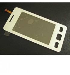 Samsung C6712 SATAR II Duos Pantalla táctil blanca original