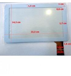"""Pantalla táctil repuesto tablet china 9"""" modelo 6"""