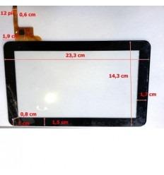 """Pantalla Táctil repuesto tablet china 9"""" modelo 7"""
