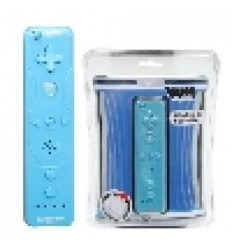 Wii Remote azul compatible