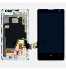 Nokia Lumia 1020 Pantalla lcd + Táctil negro + Marco origina