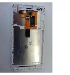 Sony Xperia M C1904 C1905 Pantalla LCD + Táctil+ Marco blanc