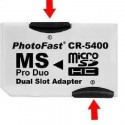 Compatible PHOTOFAST DUAL MICRO SD TF TO MS PRO DUO ADAPTER