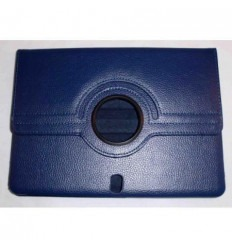 Samsung Galaxy Tab Pro 10.1 dark blue book case rotated 360º