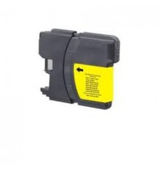 Recicled cartridge Brother LC980 LC1100 XL Yellow
