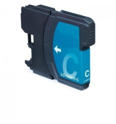 Recicled cartridge Brother LC980 LC1100 XL cyan