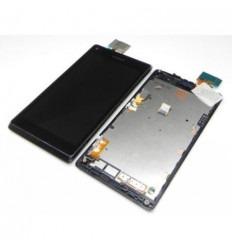 Sony Xperia L S36H C2105 Pantalla lcd + Táctil negro + Marco