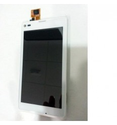 Sony Xperia L S36H C2105 Pantalla lcd + Táctil blanco + marc
