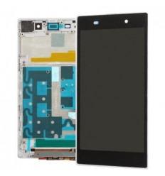 Sony XP Z1 L39H C6902 C6903 C6906 Lcd + Táctil + Marco blan