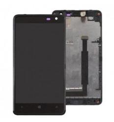 Nokia Lumia 625 Pantalla lcd + Táctil negro + Marco original