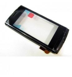 Nokia 500 Pantalla táctil negro + frame original