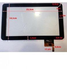 """Pantalla táctil repuesto tablet china 9"""" Modelo 9"""