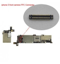 iPhone 5 Conector FPC Camara frontal original