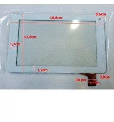 """Pantalla táctil repuesto tablet china 7"""" modelo 11"""
