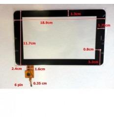 """Pantalla táctil repuesto tablet china 7"""" modelo 12"""