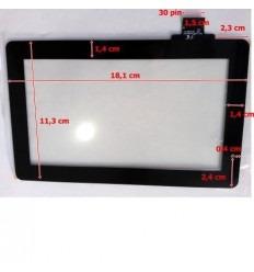 """Pantalla táctil repuesto tablet china 7"""" modelo 15"""