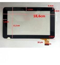 """Pantalla táctil repuesto tablet china 7"""" modelo 17"""