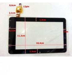 """Pantalla táctil repuesto tablet china 7"""" modelo 18"""