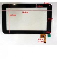"""Pantalla Táctil repuesto tablet china 7"""" modelo 20"""