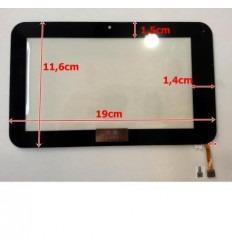 """Pantalla Táctil Repuesto Tablet china 7"""" Modelo 23"""