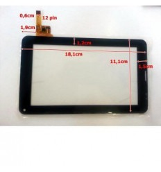 """Pantalla Táctil repuesto tablet china 7"""" Modelo 26"""