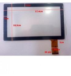"""Pantalla Táctil repuesto tablet china 7"""" Modelo 29"""