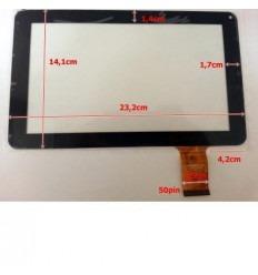 """Pantalla táctil repuesto tablet china 9"""" Modelo 10"""