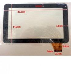 """Pantalla táctil repuesto tablet china 9"""" Modelo 13"""