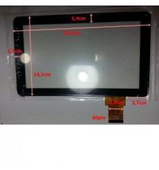 """Pantalla táctil repuesto tablet china 9"""" modelo 14"""