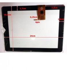 """Pantalla táctil repuesto tablet china 10"""" modelo 7"""