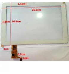 """Pantalla táctil repuesto tablet china 10.1"""" modelo 4"""