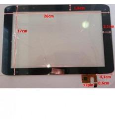 """Pantalla táctil repuesto tablet china 10.1"""" modelo 7"""