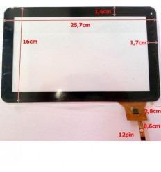 """Pantalla táctil repuesto tablet china 10.1"""" modelo 9"""