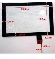"""Pantalla táctil repuesto tablet china 10.1"""" modelo 12"""