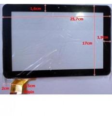 """Pantalla táctil repuesto tablet china 10.1"""" modelo 13"""