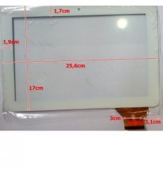 """Pantalla táctil repuesto tablet china 10.1"""" modelo 14"""
