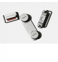 iPhone 5 original silver button set 3 pcs