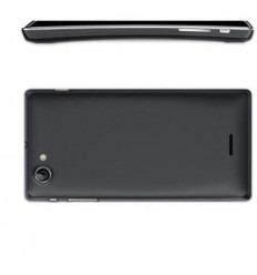 Sony Xperia J ST26I Carcasa Central + Tapa Batería negro