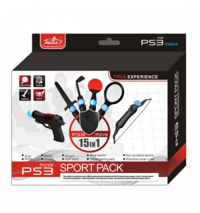Sport Pack 15 in 1 for PS3 Move