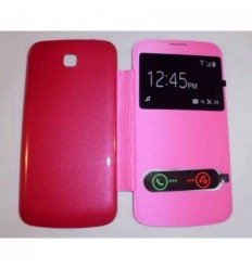 Funda Inteligente S-VIEW Cover Rosa Huawei Ascend Y600