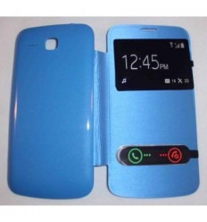 Funda Inteligente S-VIEW Cover azul celeste Huawei Ascend Y6