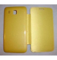 Huawei Ascend Y511 Y516 Y511-T00 U00 Flip cover amarillo
