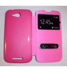 Funda Inteligente S-VIEW Cover rosa Huawei Ascend B199