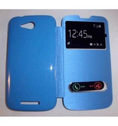 Funda Inteligente S-VIEW Cover azul celeste Huawei Ascend B1